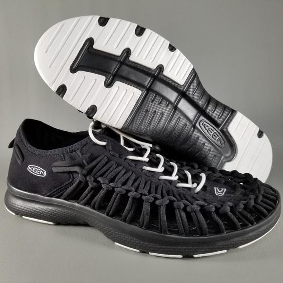 fe5d472f9c2a KEEN Uneek O2 Men s Boat Sandal Loafers 10.5 Black